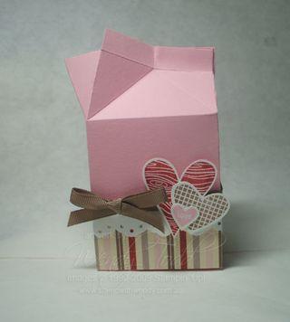 Valentines Milk Carton
