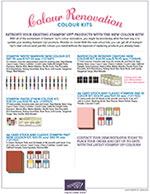 New Colour Kits Flyer
