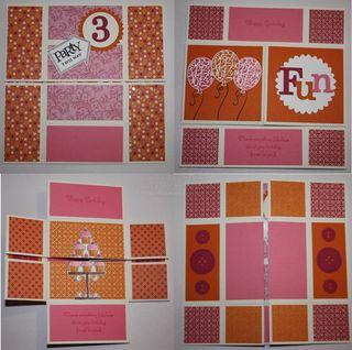 NE Card Pink sneak